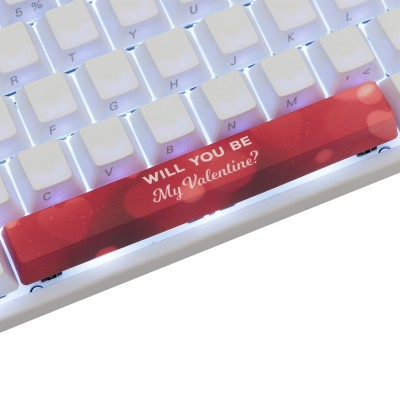 Varmilo My Valentine #1 PBT Spacebar Keycap