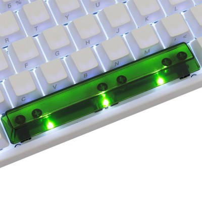 KeyPop Translucent Green Spacebar Keycap