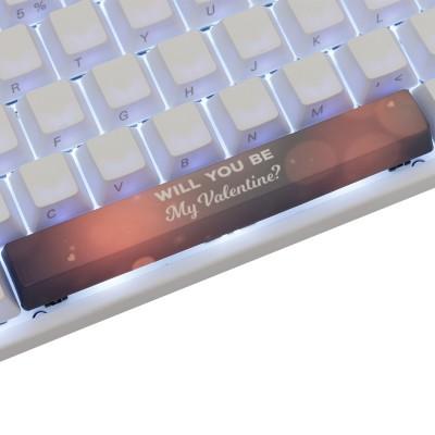 Varmilo My Valentine #2 PBT Spacebar Keycap
