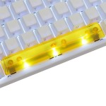 KeyPop Translucent Yellow Spacebar Keycap