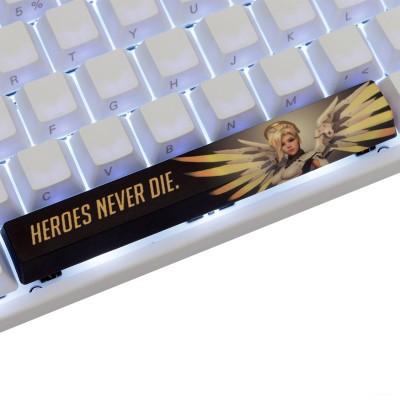 Varmilo Overwatch PBT Spacebar Keycap (Mercy - Heroes Never Die)