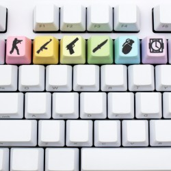 FPS Rainbow PBT Keycap Set