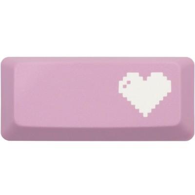 KeyPop Pink 8-Bit Heart Enter Keycap