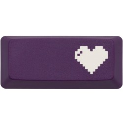 KeyPop Purple 8-Bit Heart Enter Keycap