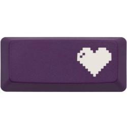 KeyPop Purple 8-Bit Heart Enter Keycap
