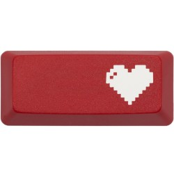 KeyPop Red 8-Bit Heart Enter Keycap