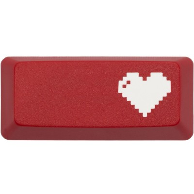 KeyPop Red 8-Bit Heart Enter Keycap