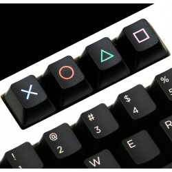 TechKeys Gamer Keycap Set