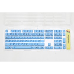 Ducky Blue PBT Dye Sublimated Keycap Set