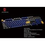 Tai-Hao Azure Kingfisher ABS Double Shot Keycap Set
