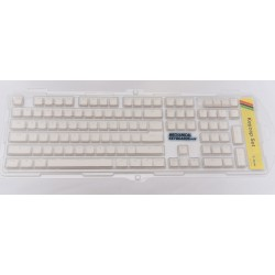 Ducky Floating ABS Double Shot Backlit Keycap Set (White)
