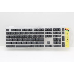 Ducky Dark Gray PBT Laser Etched Keycap Set (Top Printed)