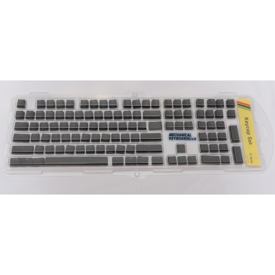 Ducky Floating ABS Double Shot Backlit Keycap Set (Black)