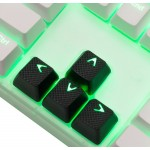 Tai-Hao Black Rubber Backlit Gaming Keycap Set
