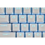 Corsair PBT 104/105 Double Shot Backlight Keycaps Set White
