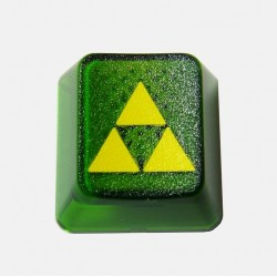 KeyPop Translucent Triforce Keycap