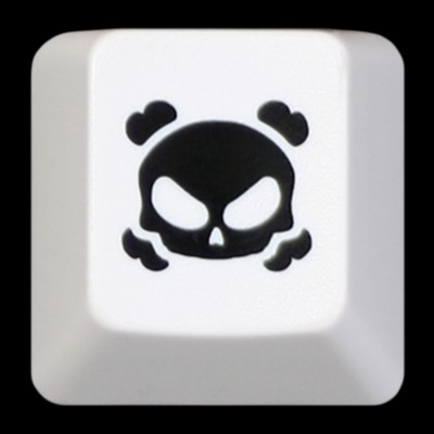 KeyPop Light Crossbones Keycap