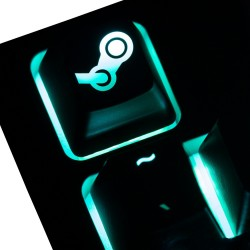 Steam ABS Backlit Keycap