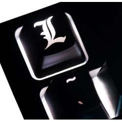 Death Note L Logo ABS Backlit Keycap