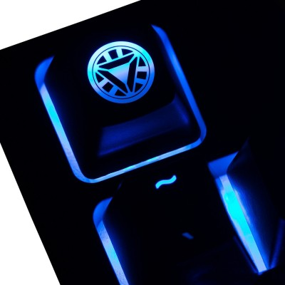 Iron Man 2 Arc Reactor ABS Backlit Keycap