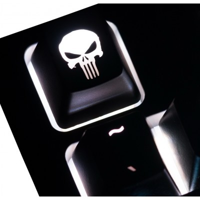 The Punisher ABS Backlit Keycap