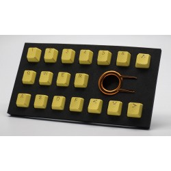 Tai-Hao Yellow Rubber Backlit Gaming Keycap Set