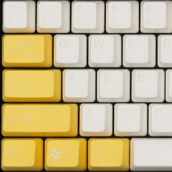 Tai-Hao Sunny Side Up ABS Double Shot Keycap Set
