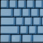 Tai-Hao Tender Blue ABS Double Shot Keycap Set