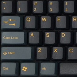 Tai-Hao Dark Knight ABS Double Shot Keycap Set