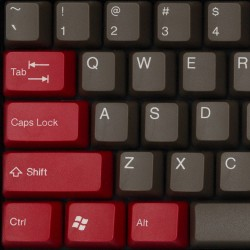 Tai-Hao Red Dolch ABS Double Shot Keycap Set