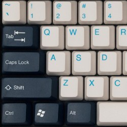 Tai-Hao Royal Navy ABS Double Shot Keycap Set