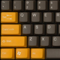 Tai-Hao Yellow Dolch ABS Double Shot Keycap Set