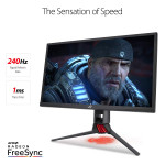 ROG Strix XG248Q 24 inch 240Hz G-Sync Esports Gaming LED Monitor