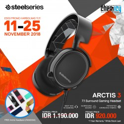 Promo Steelseries Arctis 3 Black