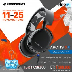PROMO Steelseries Arctis 3 Bluetooth