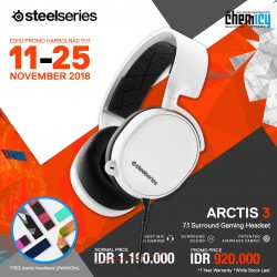 Promo Steelseries Arctis 3 White