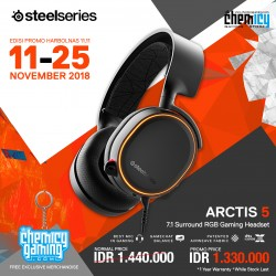 Promo Steelseries Arctis 5 Black
