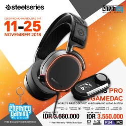 Promo Steelseries Arctis Pro + Game DAC