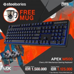 Promo Steelseries Apex M500
