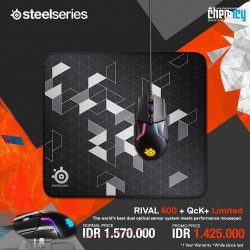 Promo Steelseries Rival 600 + QcK+ Limited