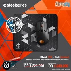 Promo Steelseries Rival 310 + QcK Limited