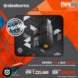 Promo Steelseries Sensei 310 + QcK Limited