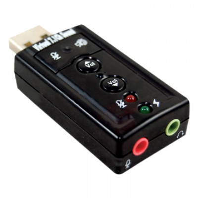 Virtual 7.1 USB Soundcard