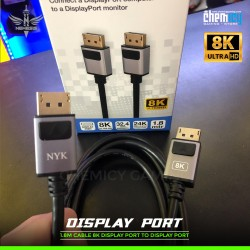 NYK Kabel Display Port 8K 1.8m