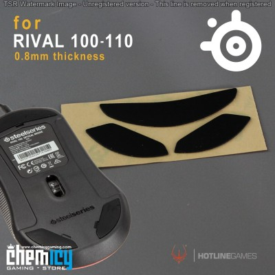 Glide Steelseries Rival 95 / 100 / PC Bang
