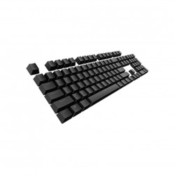 Tecware PBT Single Color Keycaps - Black