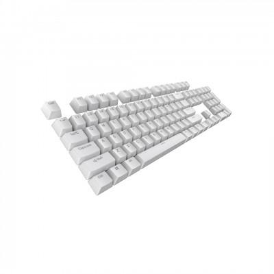 Tecware PBT Single Color Keycaps - White