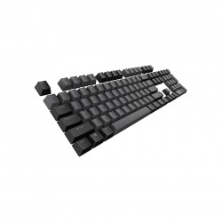 Tecware PBT Two Tone Keycaps - Black
