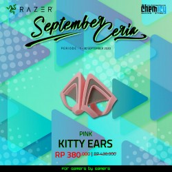 Razer Kitty Ears Quartz Pink