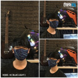 Masker Gaming Scuba Premium Blue Light